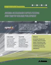 Cover of success story for fiber optics testing