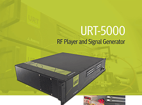 URT-5000 RF Player and Signal Generator for AM/FM, HD Radio, Sirius/XM, GPS and More