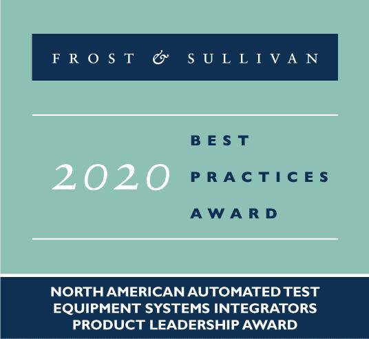 logo for Forst & Sullivan 2020 Best Practices Award