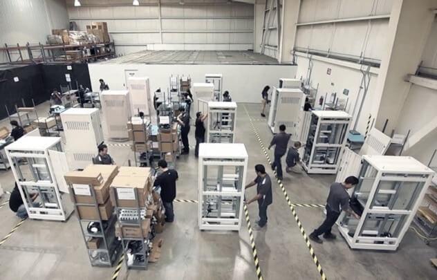 Worldwide High-Volume Manufacturing Facilities
