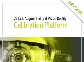 Cover - VR, AR & MR Calibration Platform Brochure