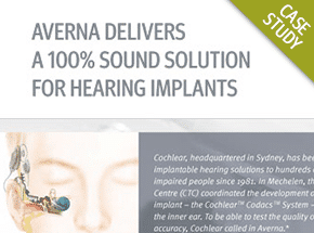 Cover - A 100% Sound Test Solution for Hearing Implants Case Study
