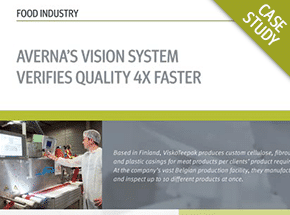 Cover - High-Speed Vision System Verifies Quality 4x Faster Case Study