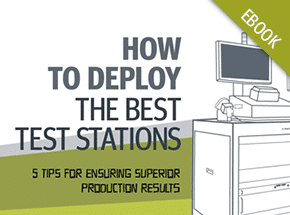 Cover - Test Station Manufacturing Tips eBook