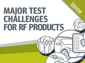 Cover - Top 5 Test Challenges for RF Products eBook