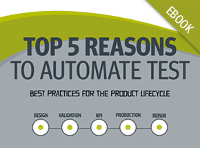 Cover - Top 5 Reasons to Automate Test eBook