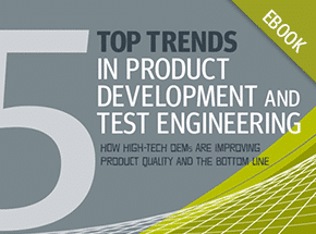Cover - Top 5 Trends in Product Development and Test Engineering eBook