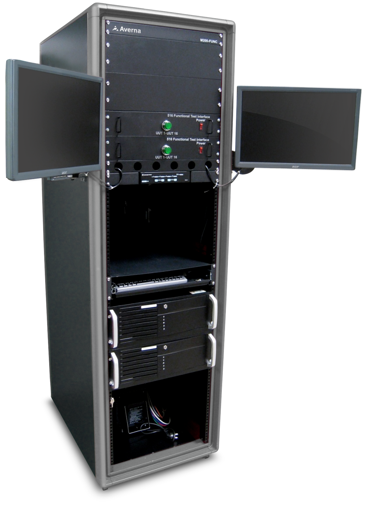 Mercury Manufacturing Verification Test System