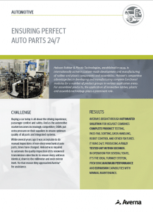 Automated Solution Ensures Perfect Auto Parts 24/7