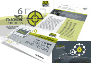 Covers of Test Engineering Content found in Averna's Resource Center