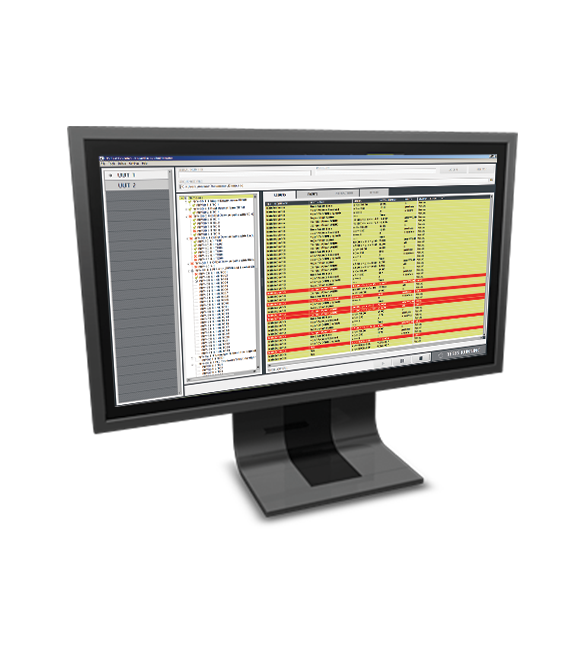 Monitor with Averna Launch GUI