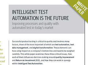 Cover - Intelligent Test Automation is the Future White Paper