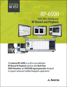 RP-6500 Wideband RF Record & Playback