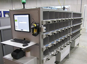 picture of high speed verification station for automotive