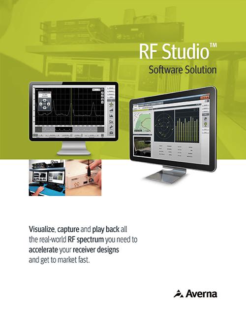 RF Studio Record & Playback Software Suite