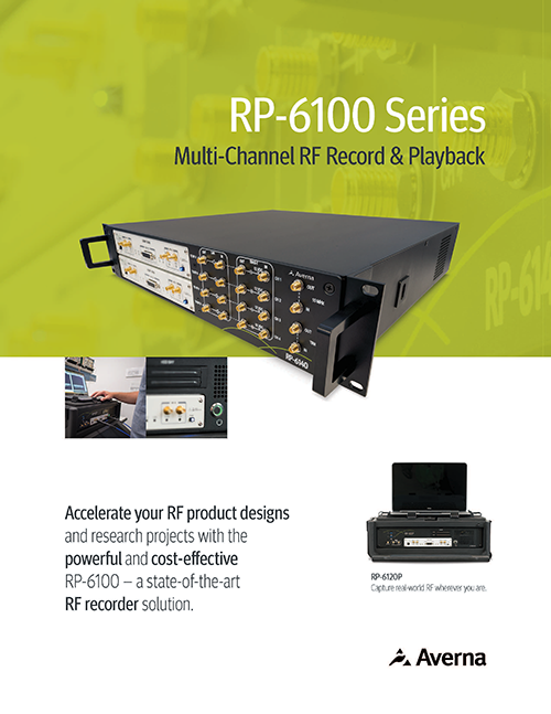 RP-6100 Multi-Channel RF Record & Playback