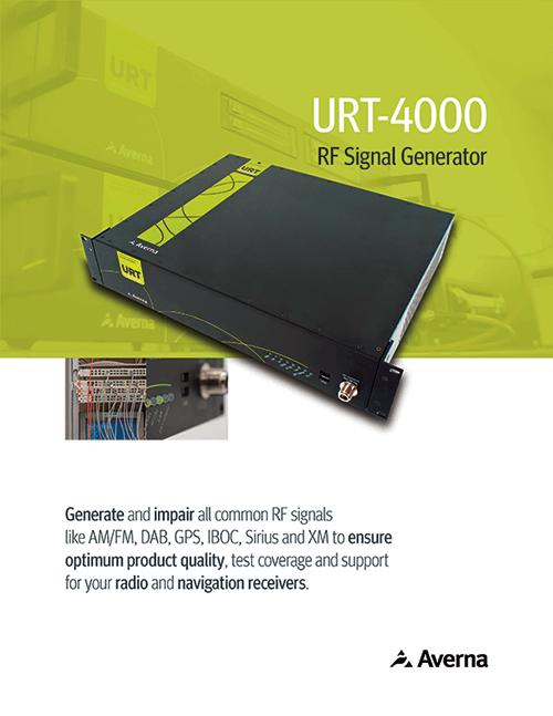 URT-4000 RF Signal Generator