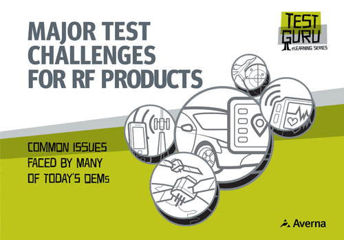 Major Test Challenges for RF Products