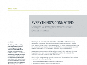 Everything's Connected: Strategies for Testing New Medical Devices