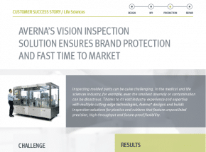 Vision Inspection Ensures Brand Protection & Fast Production