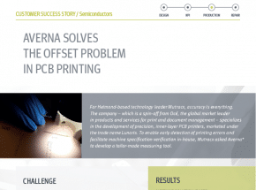 Averna Solves the Offset Problem in PCB Printing