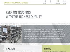 Assembly & Verification Solution Ensures the Highest Quality